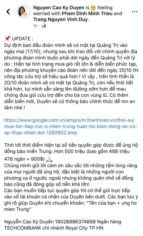 Kỳ Duyên bị mỉa mai không có tâm bằng Mỹ Tâm, Thủy Tiên, Minh Triệu 'ra tay' phản pháo dùm 'tình tin đồn' ngay 1
