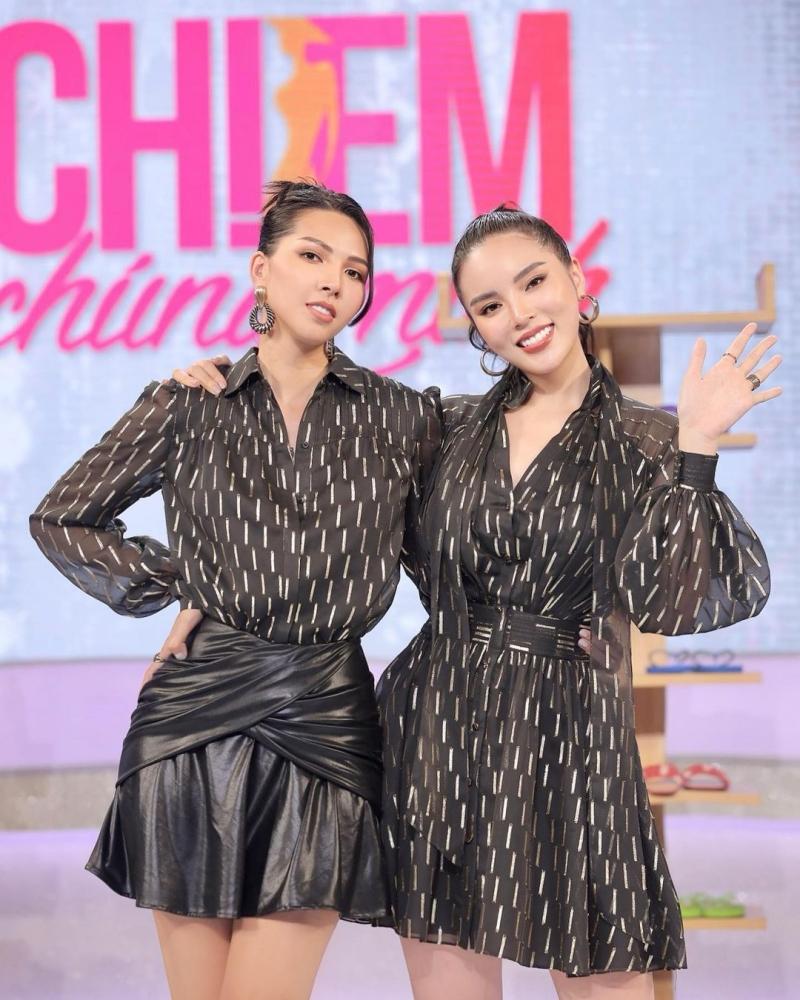 Hoa hậu Kỳ Duyên và Minh Triệu là đôi bạn thân thiết đến mức được đồn đoán đang 'yêu đương'.