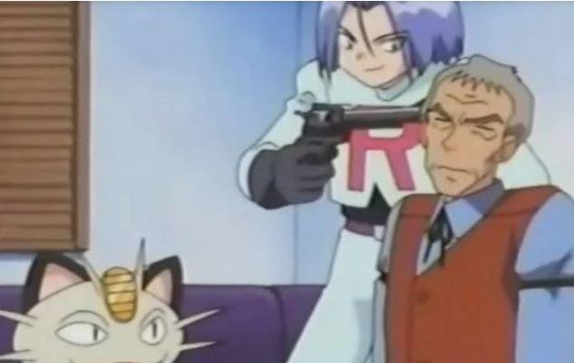 Một phân cảnh bạo lực của Pokemon.