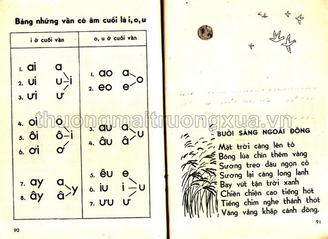 Sách học vần lớp 1 trong bộ sách thí điểm cải cách giáo dục giai đoạn 1976 - 1979 2