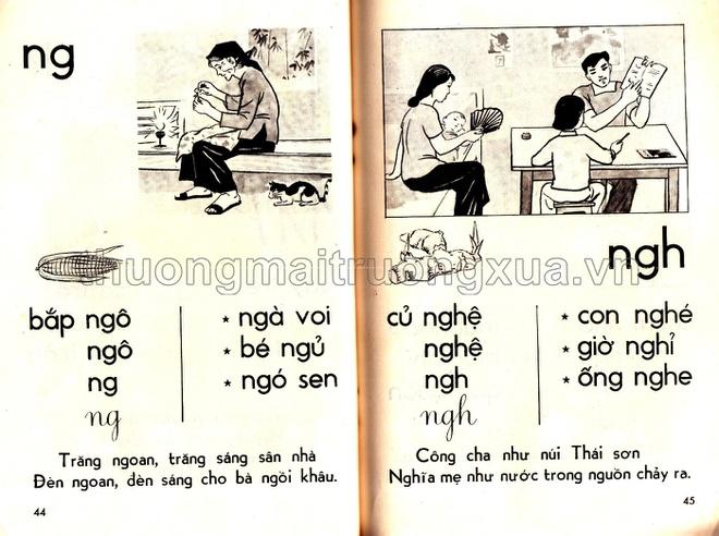 Cấp độ các bài học được nâng dần từ dễ đến khó kết hợp thêm với ca dao tục ngữ để trẻ mở rộng vốn từ.
