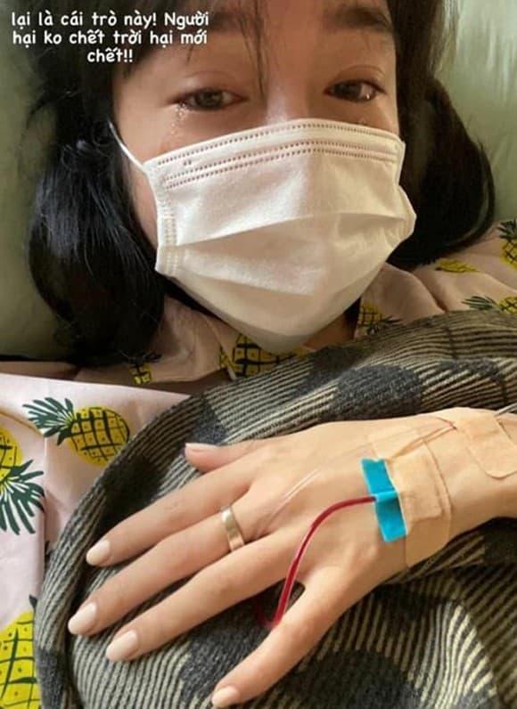 Những hình ảnh gây hoang mang mà Elly Trần đăng tải trước đó.