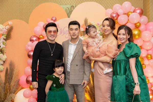 Phạm Quỳnh Anh, Thu Thủy cùng dàn sao Việt mừng sinh nhật con gái Ưng Hoàng Phúc - Kim Cương 4