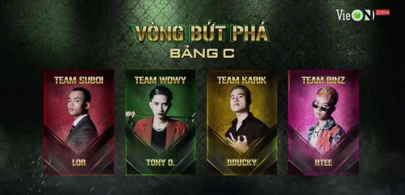 'Rap Việt' tập 12: R.Tee hóa trai hư rất ấn tượng nhưng lo sợ của Binz đã thành sự thật khi GDucky 'ra sân' 8