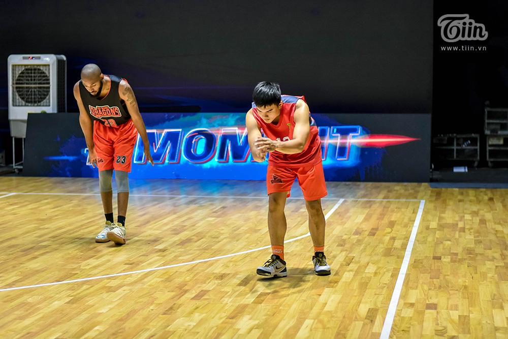 Đội hình bóng rổ Danang Dragons tập luyện căng thẳng sẵn sàng để 'Rồng thức giấc' 12