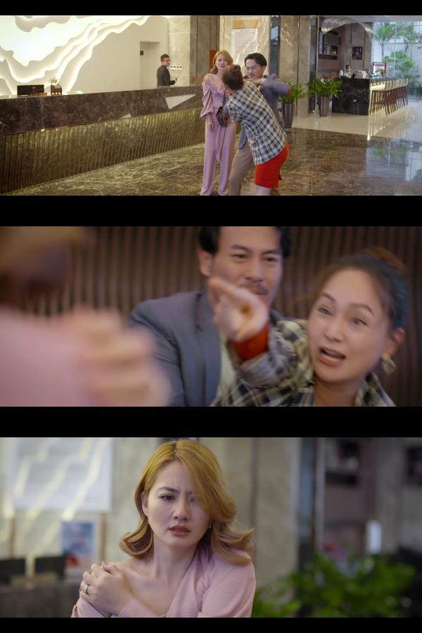 'Trói buộc yêu thương' trailer tập 13: Ngọc Lan - Trương Thanh Long bị Lan Phương bắt ghen ngay cửa khách sạn 1