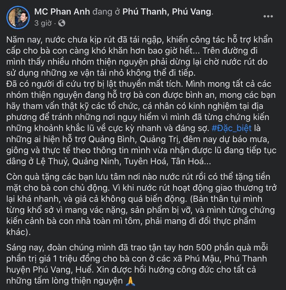 Cựu MC của The Voice'giải đáp' thay cho những thắc mắc 'Phan Anh đang ở đâu?'.