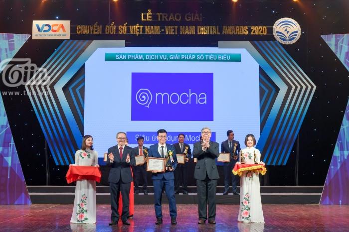 Siêu ứng dụng Mocha đạt Giải thưởng Chuyển đổi số Việt Nam 2020 2