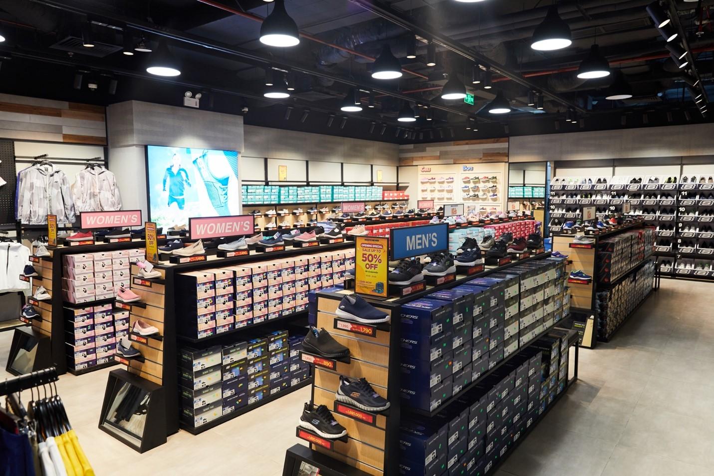 Skecherskhai trương cửa hàng lớn nhất Việt Nam tại Hà Nội 3