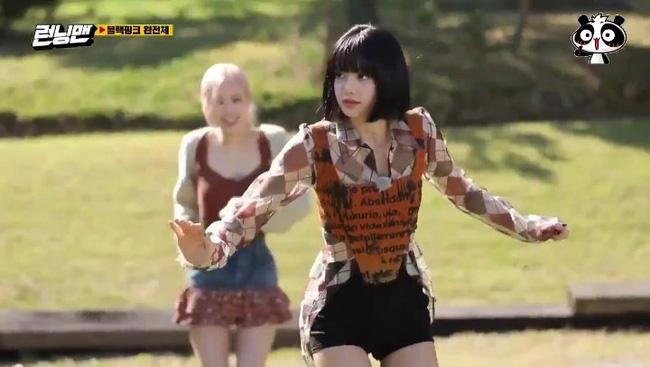 BLACKPINK tham gia Running Man: Lisa tưởng yếu đuối lại mạnh không tưởng, khiến Yoo Jae Suk phải nhờ trợ giúp 1