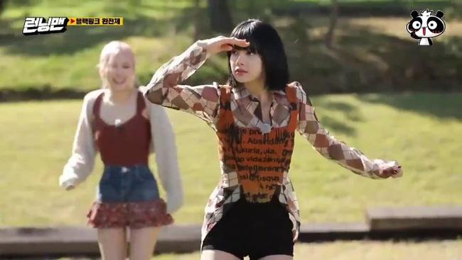 BLACKPINK tham gia Running Man: Lisa tưởng yếu đuối lại mạnh không tưởng, khiến Yoo Jae Suk phải nhờ trợ giúp 2