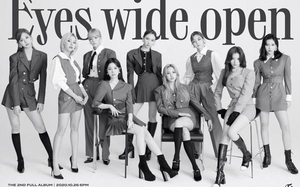 Twicesẽ trở lại với full album thứ haimang tên'Eyes Wide Open'vào ngày 26/10 sắp tới.