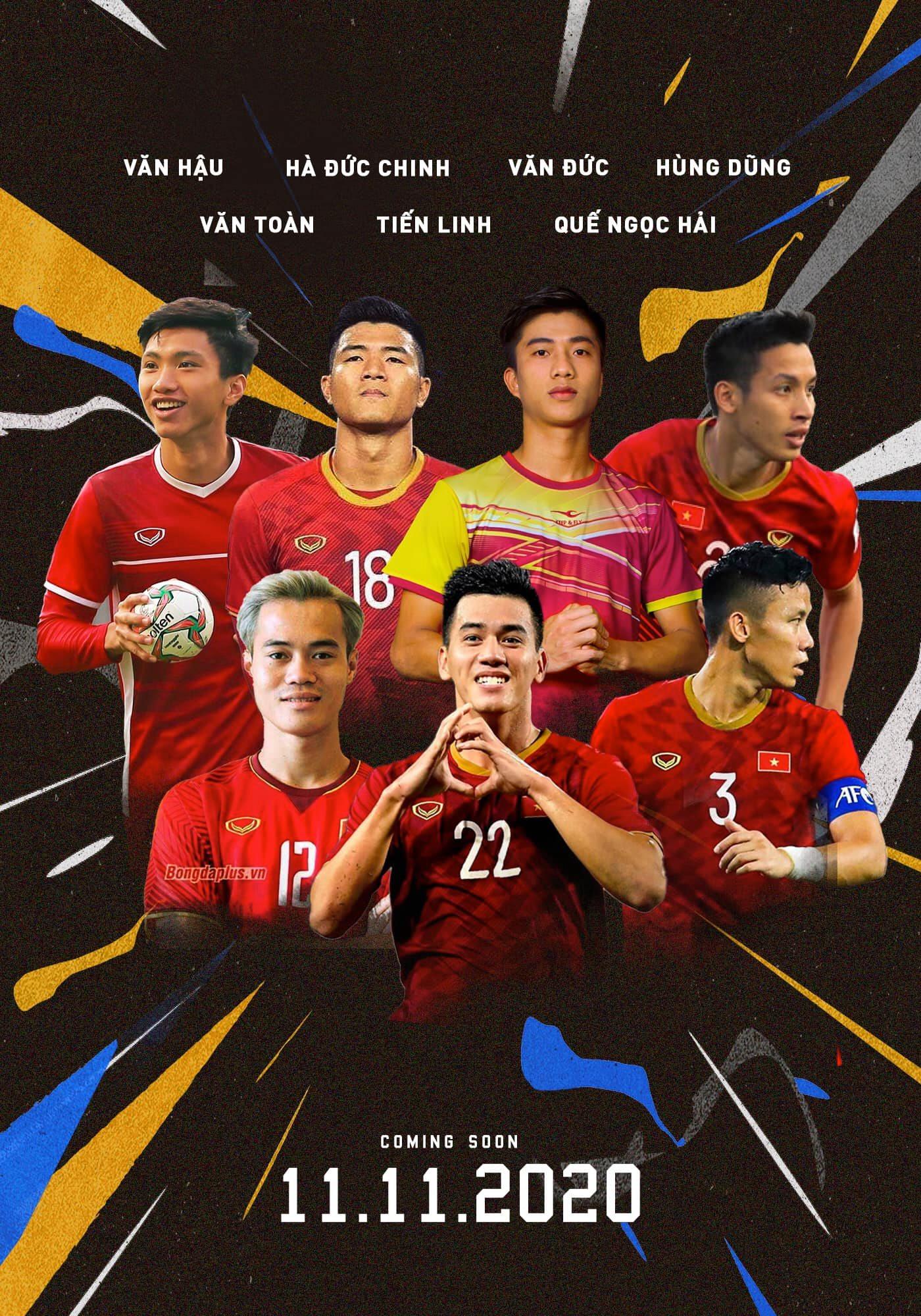 Dàn cầu thủ, nghệ sĩ nổi tiếng sẽ xuất hiện trong trận đấu gây quỹ vào 11/11 tới
