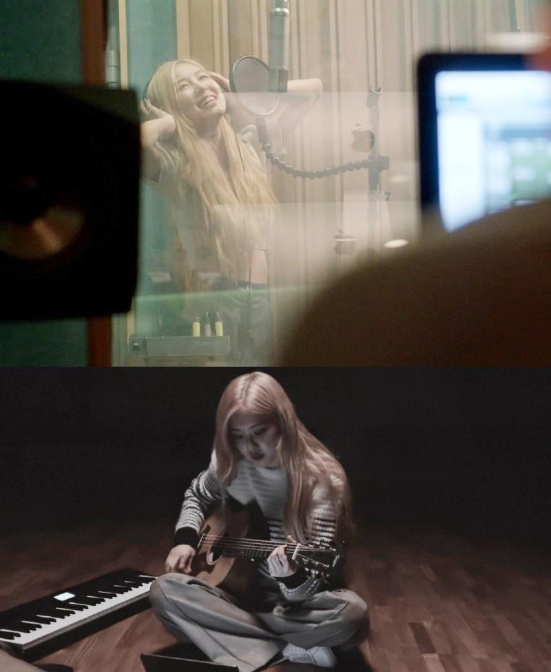 Hình ảnh Rose trong bộ phim tài liệu 'Light up the sky'.