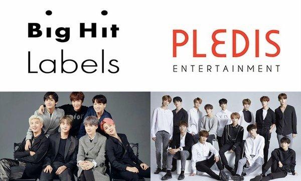 Pledis đã chính thức về dưới trướng Bighit Labels trong tuần qua.