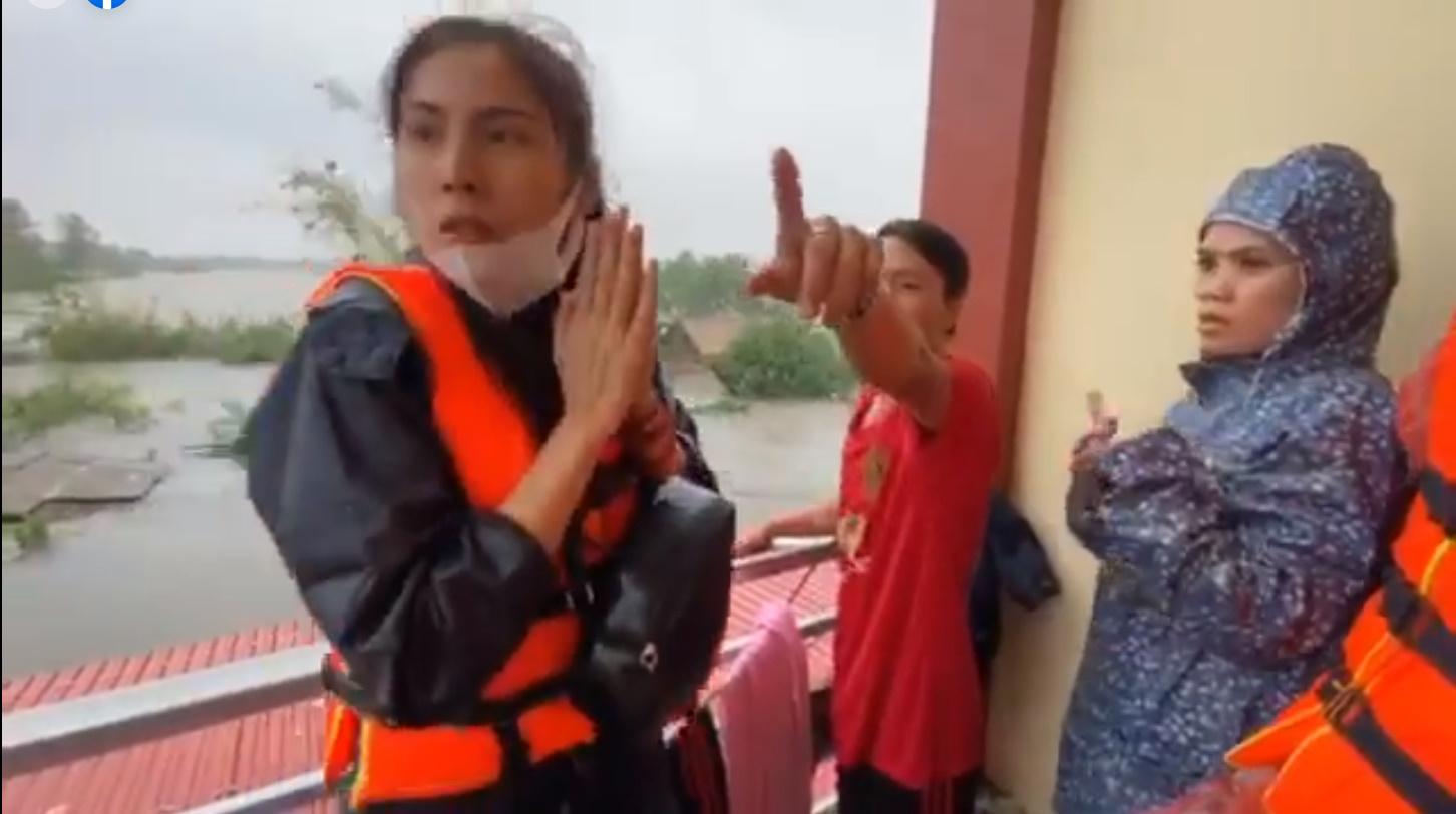 Thủy Tiên tuyên bố sau lũ ngoài xây lại nhà cho người dân còn xây thêm nhà tập thể đề phòng mưa bão 5