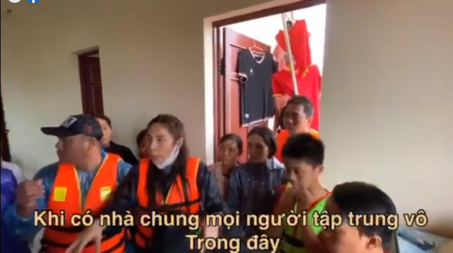 Thủy Tiên quyết định sẽ quay lại xây nhà cho người dân Quảng Bình