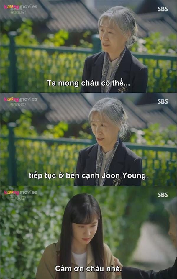 Giám đốc Na rất kỳ vọng vào Song Ah.