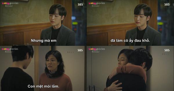 Joon Young cuối cùng cũng thừa nhận sự mệt mỏi của mình.