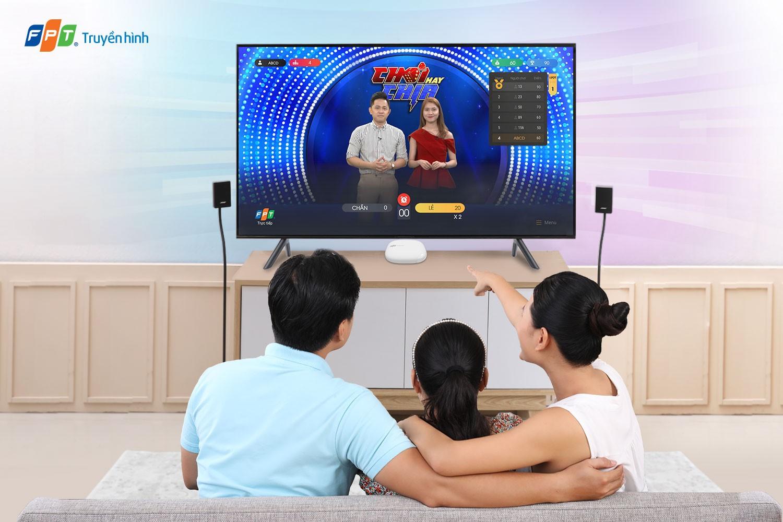 Chơi Hay Chia thu hút sự theo dõi và tham gia của khán giả Truyền hình FPT