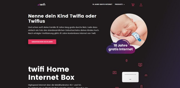 Bài quảng cáo của công ty Wifi.