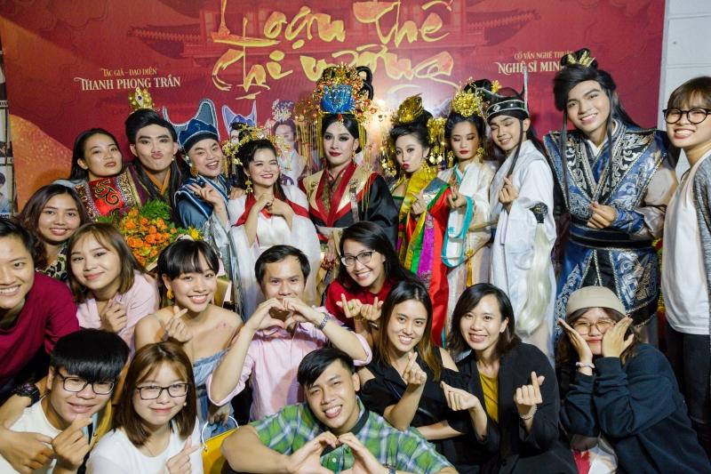 Ngày 31/10 này, K4MN sẽ có đêm diễn đầu tiên ra mắt khán giả với vở Loạn thế chi vươngtại sân khấu kịch Minh Nhí, 26/6A Nguyễn Bỉnh Khiêm, quận 1, TPHCM.