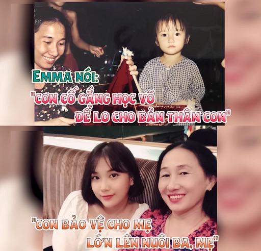 Emma Nhất Khanh và mẹ