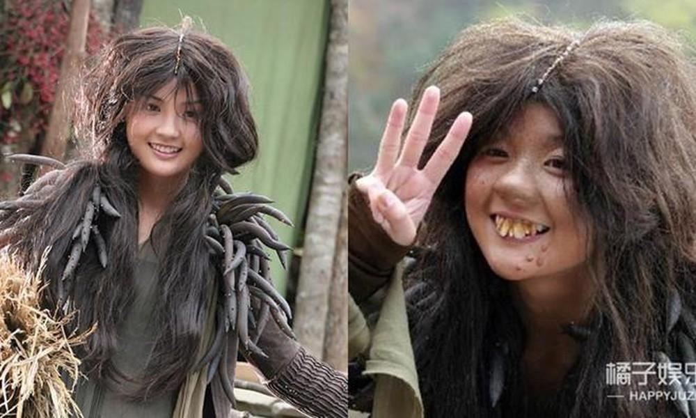 Hết hồn với tạo hình răng 'gập ghềnh' trên phim của sao nữ Hoa ngữ 1