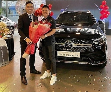 Trước đó, hàng loạt cầu thủ Việt đã tậu chiếc xe tiền tỷ này.