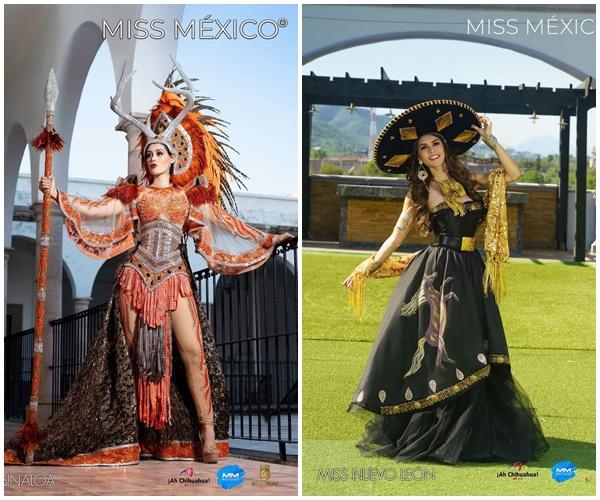 Loạt trang phục truyền thống của Hoa hậu Mexico 2020 được netizen khen ngợi 0
