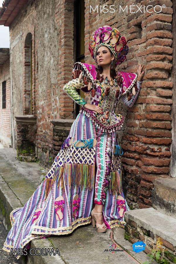 Loạt trang phục truyền thống của Hoa hậu Mexico 2020 được netizen khen ngợi 3