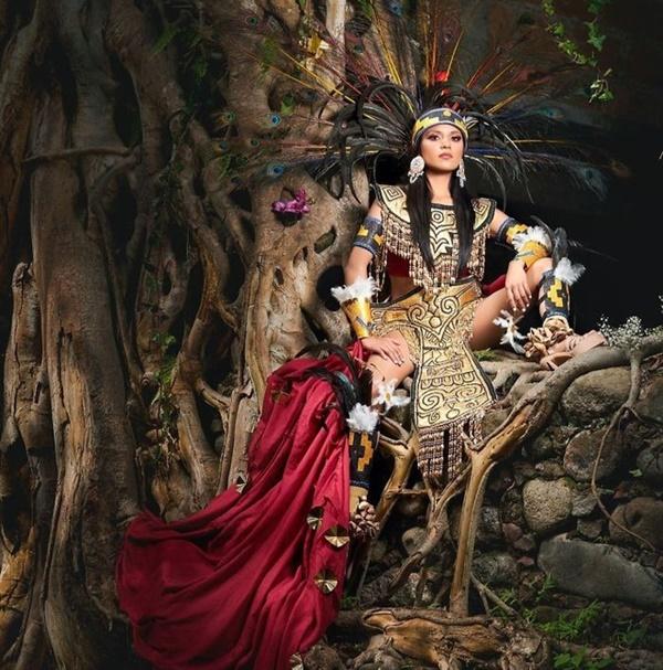 Loạt trang phục truyền thống của Hoa hậu Mexico 2020 được netizen khen ngợi 5