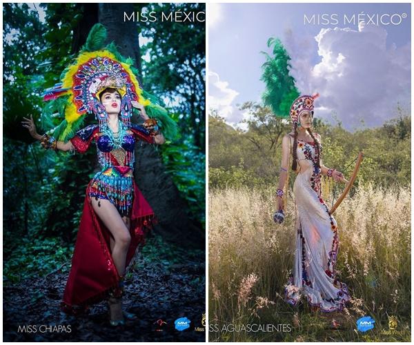 Loạt trang phục truyền thống của Hoa hậu Mexico 2020 được netizen khen ngợi 7