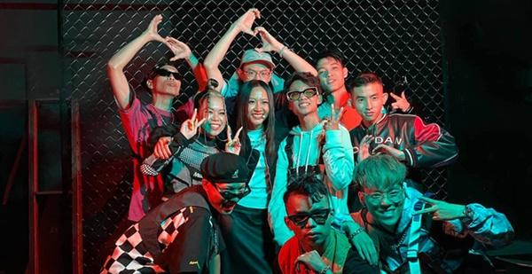 Suboi là team duy nhất không sử dụng nhạc do dàn producer Spacespeakers tại vòng 'Bức phá'.