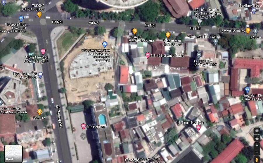 Nhói lòng hình ảnh lũ lụt các tỉnh miền Trung nhìn từ Google Maps 5