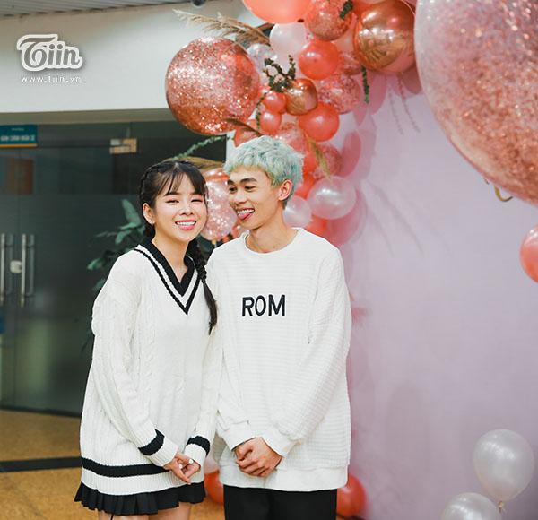 DJ Mie và bạn trai Hồng Thanh