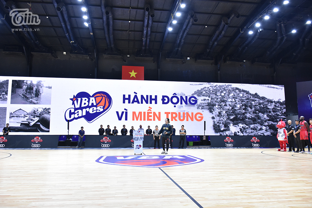 Hành động đẹp từ giải đấu bóng rổ chuyên nghiệp Việt Nam: 'Thương thôi chưa đủ, phải hành động!' 0