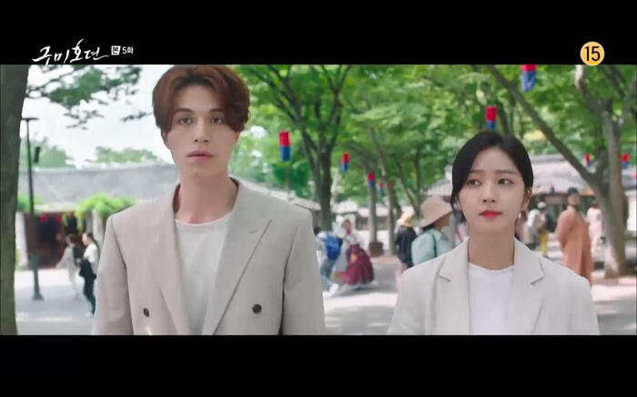 'Bạn trai tôi là hồ ly' tập 5: Lee Dong Wook hôn Jo Bo Ah say đắm, xác nhận chuyện tình tiền kiếp 36