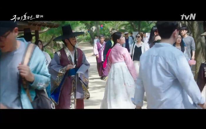 'Bạn trai tôi là hồ ly' tập 5: Lee Dong Wook hôn Jo Bo Ah say đắm, xác nhận chuyện tình tiền kiếp 38