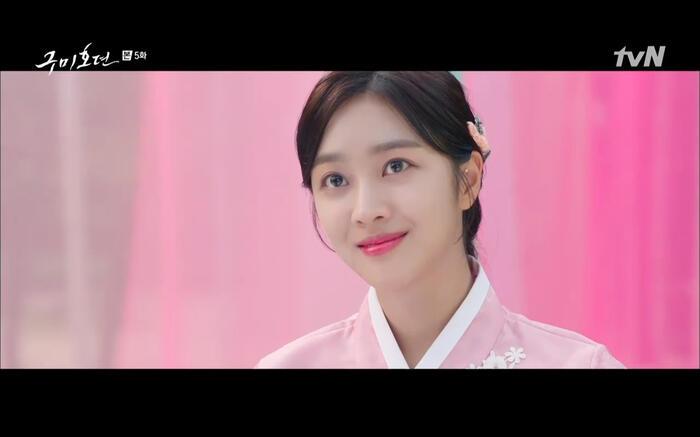 'Bạn trai tôi là hồ ly' tập 5: Lee Dong Wook hôn Jo Bo Ah say đắm, xác nhận chuyện tình tiền kiếp 40