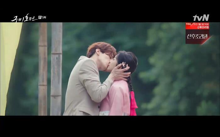 'Bạn trai tôi là hồ ly' tập 5: Lee Dong Wook hôn Jo Bo Ah say đắm, xác nhận chuyện tình tiền kiếp 43