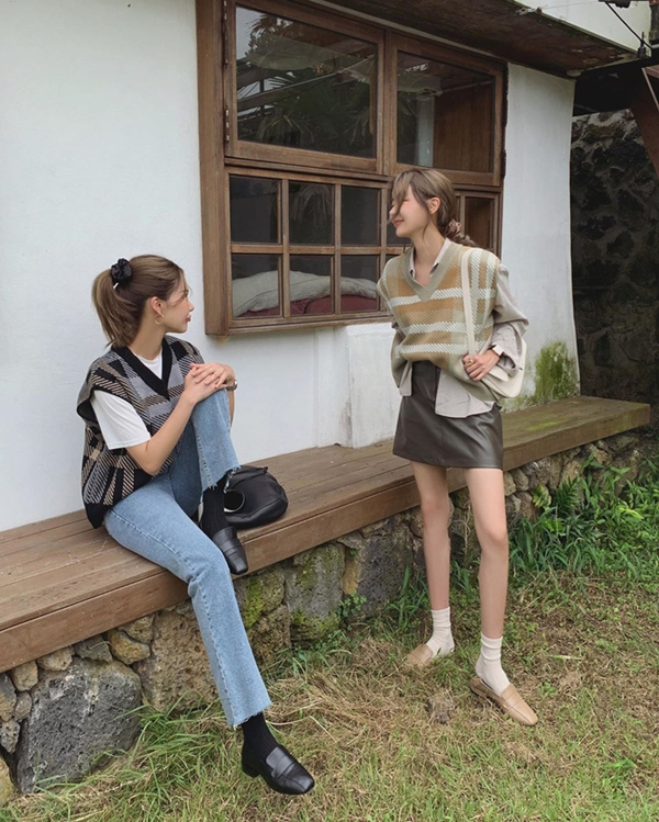 Để có style mùa lạnh chuẩn như gái Hàn, đây là 7 item mà các nàng không thể bỏ lỡ 15