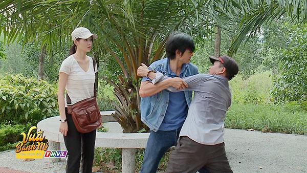 'Vua bánh mì' tập 26: 'Không ai cho lương thiện', Hữu Nguyệnleo rào đột nhập nhà bà Khuê để trả thù 8