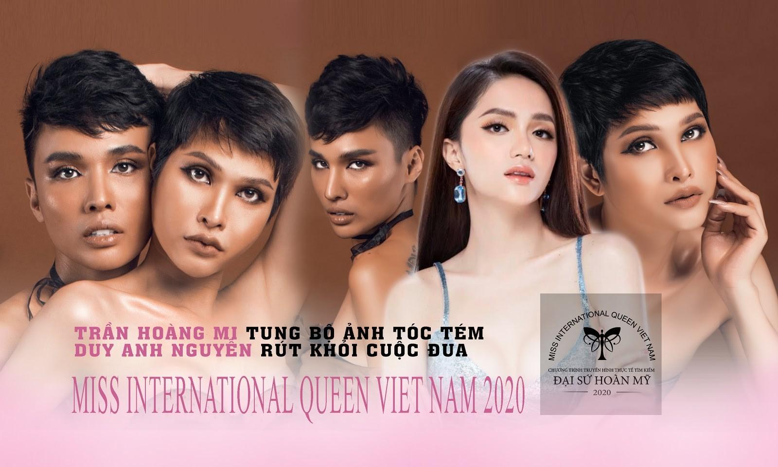 Miss International Queen VietNam - Trần Hoàng Mi tóc tém cá tính, Duy Anh Nguyễn bất ngờ rút lui 0