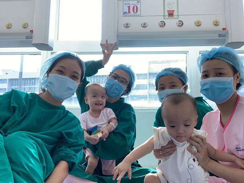 Không chỉ bệnh viện, nơi này giống như một gia đình (Ảnh: Bệnh viện Nhi đồng Thành phố TPHCM)