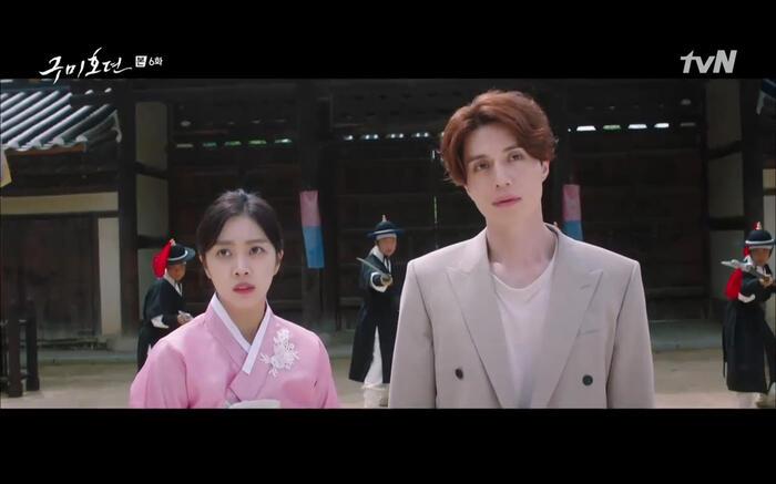 'Bạn trai tôi là hồ ly' tập 6: Lee Dong Wook ngỡ ngàng vì Jo Bo Ah là con gái của mãng xà tinh? 8