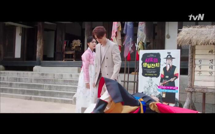 'Bạn trai tôi là hồ ly' tập 6: Lee Dong Wook ngỡ ngàng vì Jo Bo Ah là con gái của mãng xà tinh? 12
