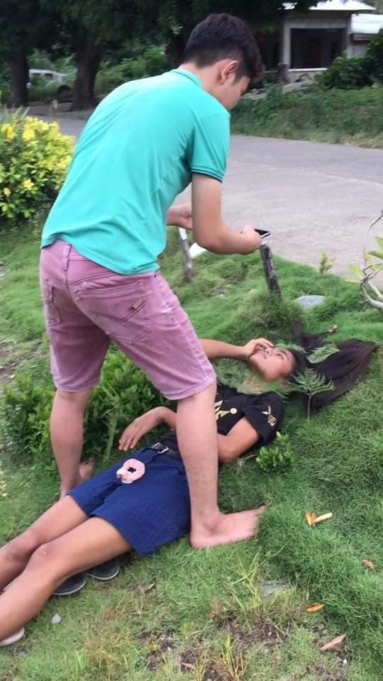 Mang cả khu vườn vào phòng: Chàng trai thực hiện bộ ảnh cực chất cho em gái 12