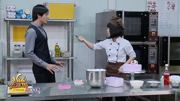 'Vua bánh mì' tập 27: Trương Mỹ Nhân rơi có chiếc nón mà Quốc Huy lập tức nhận ra nàng 3