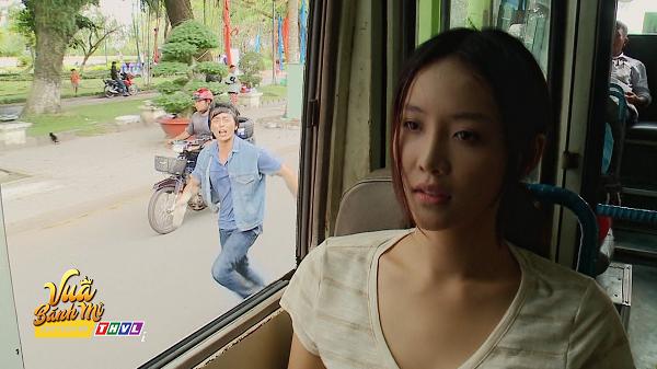 'Vua bánh mì' tập 27: Trương Mỹ Nhân rơi có chiếc nón mà Quốc Huy lập tức nhận ra nàng 5